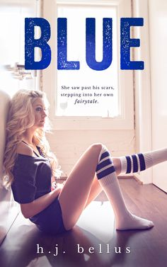 Toot's Book Reviews: Cover Reveal: Blue by H.J. Bellus