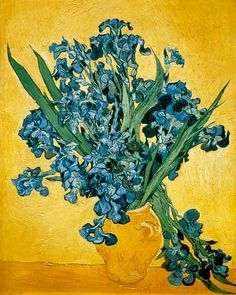 Vincent van Gogh-Schwertlilien