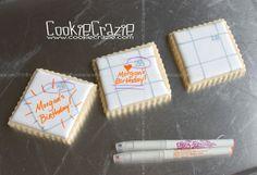 CookieCrazie: April 2013 Date Cookies, Cookie Tutorials, Cookie Decorating, Wedding Anniversary, Wedding Engagement, Special Occasion, Calendar, Birthday, Fun