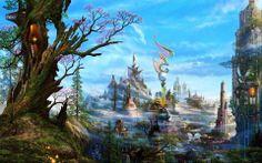 pictures of fantasy landscapes | Fantasy, Landscape wallpapers