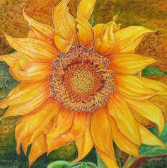 Alena Vyborna Silk painting