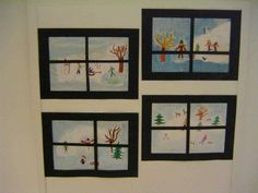 Winter Crafts For Kids Winter Art Projects, Winter Project, Winter Crafts For Kids, Art For Kids, Christmas Drawing, Christmas Art, Christmas Angels, Preschool Crafts, Craft Stick Crafts