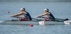 Laurence Whitley and Lauren Rowles: Gold in the TA mixed double sculls rowing.