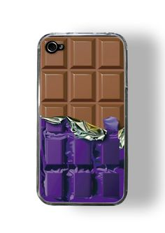 Chocolate I Phone case.. it looks soso realistic!!!!!!!!!!!!!!!!!!!