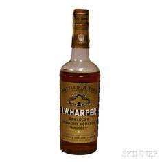 fae48ba59d0 IW Harper Kentucky Straight Bourbon Whiskey 1953