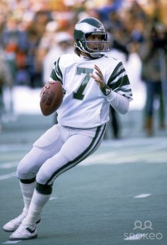 "Ron Jaworski of the Philadelphia Eagles looks for an open receiver. ""Jaws"" is now a commentator on ""Monday Night Football."""