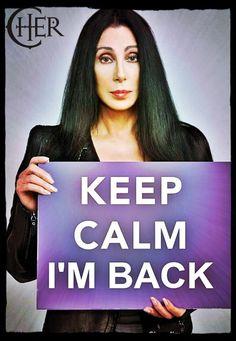 *Cher hair toss*
