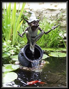 'Cauldron Fountain' by David Goode £6,200  I love David Goode's goblins, if I was rich enough I'd have a gardenful...