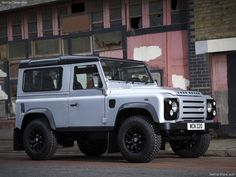 Land Rover Defender X-Tech. always had a soft spot for the land rover