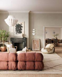 Living Room Inspiration, Interior Design Inspiration, Home Decor Inspiration, Living Room Designs, Living Room Decor, Living Spaces, Living Rooms, Beautiful Interiors, Decoration