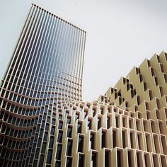 Bank Pasargad Headquarter in Tehran, #Iran (2013) Architects: Farshad Mehdizadeh, Raha Ashrafi . . . Design Team: Majid Zamani, NasimCortez Sehat, Nooshin Atrvash ______________________________ . Follow @architecturedotcom . Tag your archi friends. . ______________________________ #officedesign #officearchitecture #parametricarchitecture #rhythm #contemporaryarchitecture #tower #towerdesign #bankdesign #Iranian #iranianarchitects #mimari #mimarlik #mimar #architects #architexture…