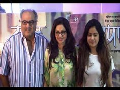 Sridevi at the special screening of marathi movie TAPAAL.