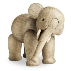 Figurine en bois ÉLÉPHANT de Kay Bojesen -- un jouet en bois classique très apprécié