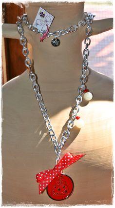 Collar aluminio forjado, Colección Monina´s