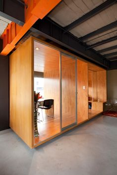 Mini-rooms. I love these. Perfect when you need a little privacy to focus on getting some work done.