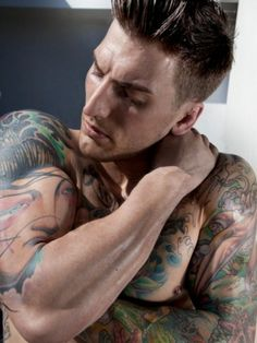 Gay Guys In Tats Have Sex