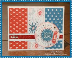 Keeley's Kreations: Close To My Heart's June Stamp of the Month -- Kaboom (S1406) Blog Hop!