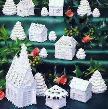 crochet village | eBay
