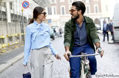 patricia-manfield_giotto-calendoli©SophieMhabille-model-couple-street-style-fashion-milan-980x649.jpg (980×649)
