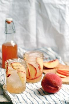 Nothing beats a simple, delicious cocktail you can make in a big batch and serve without breaking a sweat. This peach shrub recipe might be just the ticket for your next outdoorsy shindig.