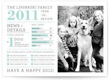 Family Year in Review Holiday Photo Cards by j.bar...   Minted