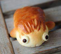 Adorable ponyo bread :)