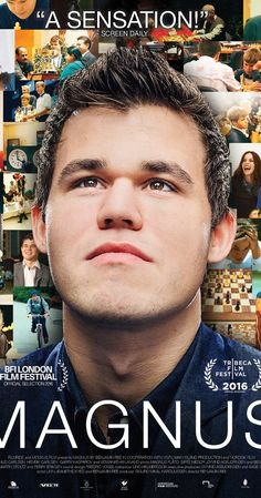 Directed by Benjamin Ree. With Magnus Carlsen, Garry Kasparov, Viswanathan Anand. Magnus Carlsen, Norwegian chess prodigy, becomes a grandmaster at age 13 and world champion in Magnus Carlsen, Best Documentaries On Netflix, Garry Kasparov, Child Prodigy, Common Sense Media, Lost In Thought, Watch Free Movies Online, Video On Demand, Family Movies