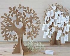 Preciosos árboles de los deseos dónde tus invitados de boda podrán dejaros sus mejores deseos. 96 tarjetas incluidas.    Lote de 2 árboles de los deseos fabricados en madera. 96 tarjetas incluidas, donde vuestros familiares y amigos os dejarán sus mejores deseos.   Un recuerdo para toda la vida.   Medidas árbol: 33x42x3,5 cm School Decorations, Wedding Decorations, Christmas Decorations, Summer Crafts, Diy And Crafts, Crafts For Kids, Wishes Tree, Wedding Table Seating, Wooden Tree