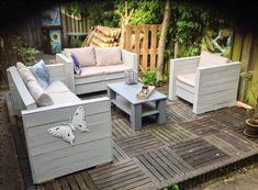 DIY Wooden Pallet Outdoor Furniture.