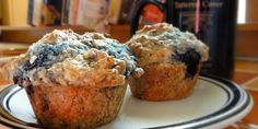 Near perfect blueberry muffins