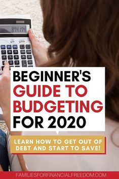 Beginner's Guide to Budgeting – Families for Financial Freedom – Finance tips, saving money, budgeting planner Ways To Save Money, Money Tips, Money Saving Tips, How To Make Money, Budget App, Planning Budget, Monthly Budget, Financial Planning, Financial Budget