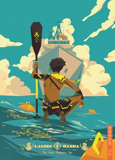 "for: [""Laging Hasda""-The West Philippines Sea], advertising Poster Illustration by Jap Mike Philippines). Illustration Main, Comics Illustration, Illustrations And Posters, Digital Illustration, Arte Filipino, Posca Art, Animation, Grafik Design, Graphic"