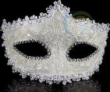 2013 HOT White Mardi Gras Costume Masquerade Carnival Party Mask MASK038