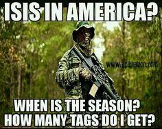 No closed season, no bag limit, night hunting allowed.
