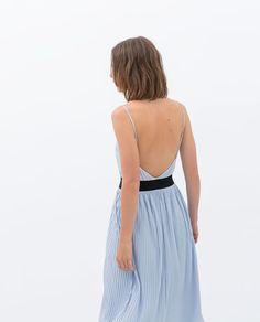 Image 4 of CONTRAST DRESS from Zara