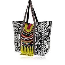 2015-Newest-Summer-Canvas-Women-Beach-Bag-Fashion-Color-Striped ...