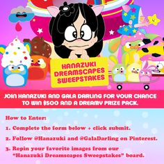 Fun! Play with me in the Hanazuki Dreamscape Sweepstakes!