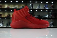 b7166aa9517d6 Air Jordan 32 Rosso Corsa Gym Red Black AA1253-601 For Sale Online-1