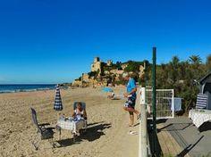 Camping Tamarit en la playa (Tarragona)