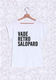 VADE RETRO SALOPARD - #JaimeLaGrenadine #citation #punchline #teeshirt #tshirt…