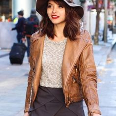 Light brown faux leather jacket Light brown faux leather jacket, only when a few times. No PP, No trades. Jackets & Coats