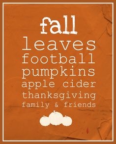 FALL Printable | A Step In The Journey