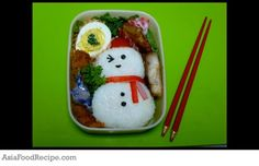 Here's a bento for kids who do not like to eat rice, this will definitely keep their interest coming and their mouth opening