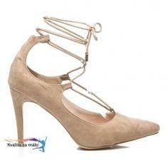 Moderné Elegantné Lodičky so zaväzovaním Suede Platform, Heels, Fashion, Heel, Moda, Fashion Styles, High Heel, Wedge, Fashion Illustrations