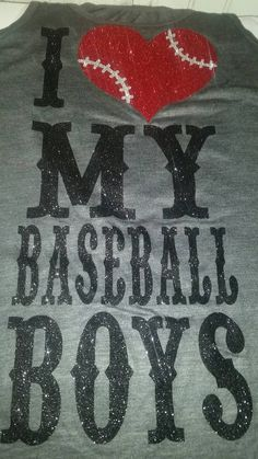 Of course would change it to just Boy but this would be super cute in a tank top for the hot summer games ⚾️