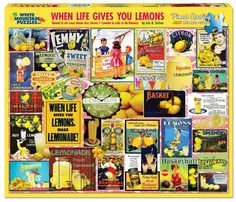 WHEN LIFE GIVES YOU LEMONS - 1000 Piece Jigsaw Puzzle
