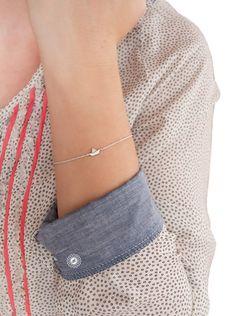"""Armbänder - Armband PAPIERBOOT """"little paper boat"""" - ein Designerstück von amberemotion bei DaWanda"""