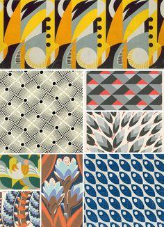 Kao osnovu za stvaranje ritma možete koristiti različite prirodne i geometrijske oblike.