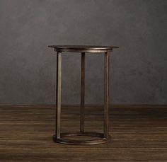 Mercer Round Side Table Restoration Hardware 250