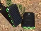 Waterproof Dual USB Portable Solar Charger Solar Power Bank For Phone Solar Phone Chargers, Solar Charger, Portable Charger, Iphone 5 6, Solar Power, Usb, Solar Energy